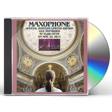 Maxophone OFFICIAL BOOTLEG LIMITED CD