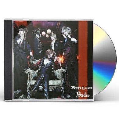 Sadie RED LINE (VERSION B) CD