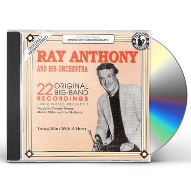 Ray Anthony YOUNG MAN WITH A HORN-1952-54 CD