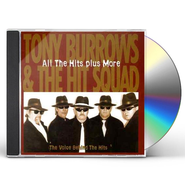Tony Burrows ALL THE HITS PLUS MORE CD