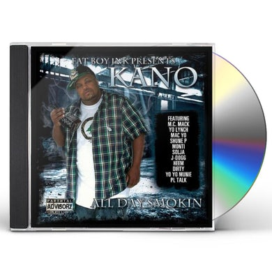 Kano ALL DAY SMOKIN CD