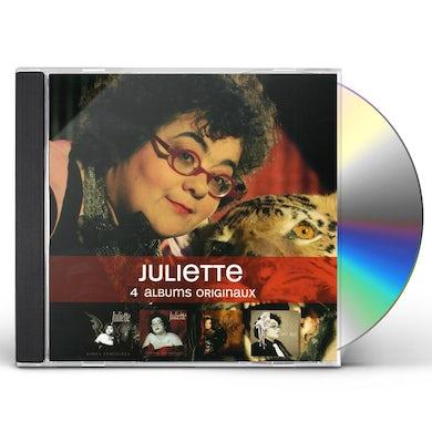 JULIETTE 4 ORIGINAL ALBUMS CD