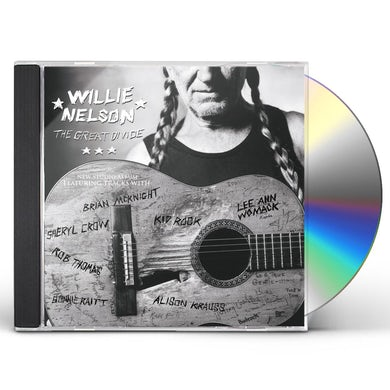 Willie Nelson GREAT DIVIDE CD
