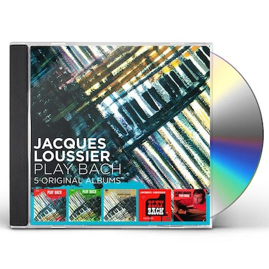 Jacques Loussier 5 ORIGINAL ALBUMS CD