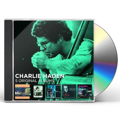 Charlie Haden 5 ORIGINAL ALBUMS CD