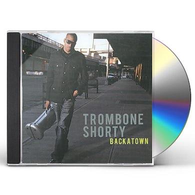 Trombone Shorty BACKATOWN CD
