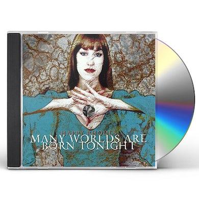Happy Rhodes MANY WORLDS ARE BORN TONIGHT CD