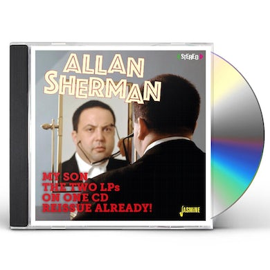 Allan Sherman MY SON THE TWO LPS ON ONE REISSUE ALREADY CD