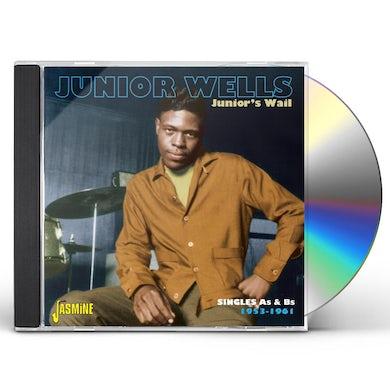 Junior Wells JUNIOR WAIL-SINGLES AS & BS 1953-61 CD