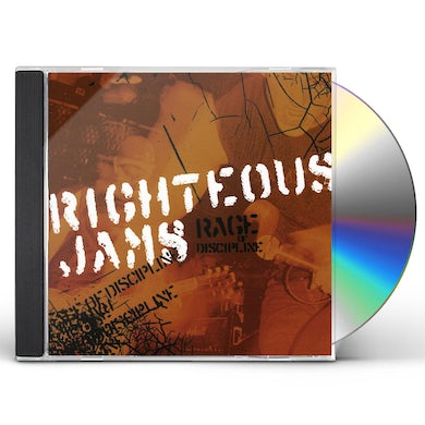 Righteous Jams RAGE OF DISCIPLINE CD