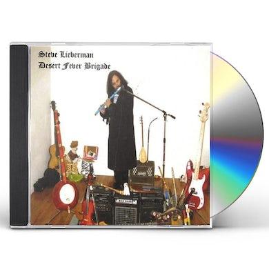 Steve Lieberman DESERT FEVER BRIGADE CD