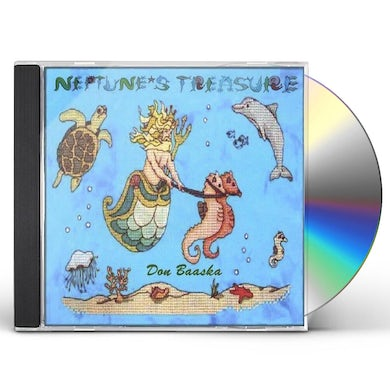 Don Baaska NEPTUNES TREASURE CD