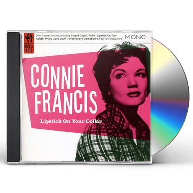 Connie Francis LIPSTICK ON YOUR COLLAR CD