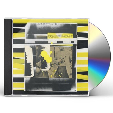 Guided By Voices WARP AND WOOF CD