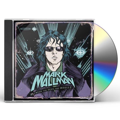 Mark Mallman BETWEEN THE DEVIL & MIDDLE C CD