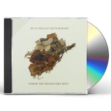 Mt St Helens Vietnam Band WHERE THE MESSENGERS MEET CD