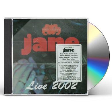 LIVE 2002 CD