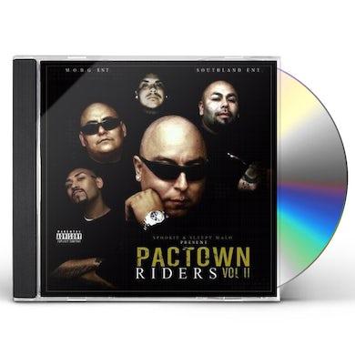Sleepy Malo PACTOWN RIDERS 2 CD
