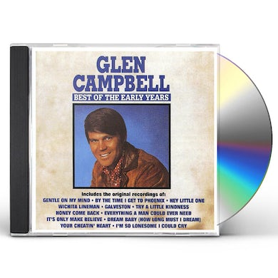 Glen Campbell BEST OF THE EARLY YEARS CD