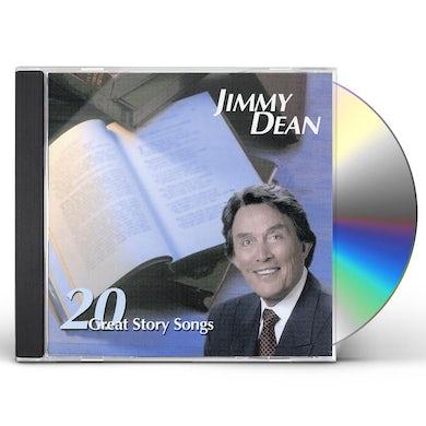 Jimmy Dean 20 GREAT STORY SONGS CD