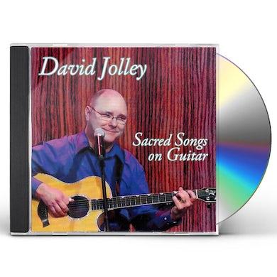 SACRED SONGS ON GUITAR CD