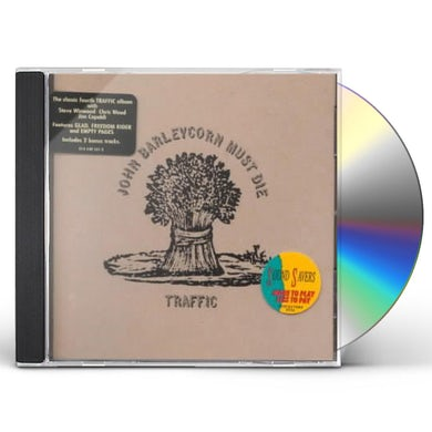 Traffic JOHN BARLEYCORN MUST DIE CD