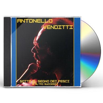Antonello Venditti SOTTO IL SEGNO DEI PESCI E ALTRI SUCCESSI CD