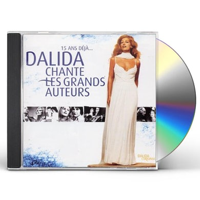 Dalida CHANTES GRANDS AUTEURS CD
