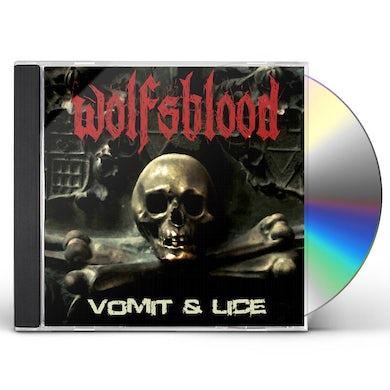 Wolfsblood VOMIT & LICE CD