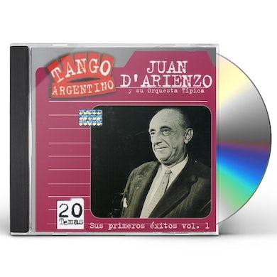 Juan d'Arienzo SUS PRIMEROS EXITOS 1935/40 1 CD