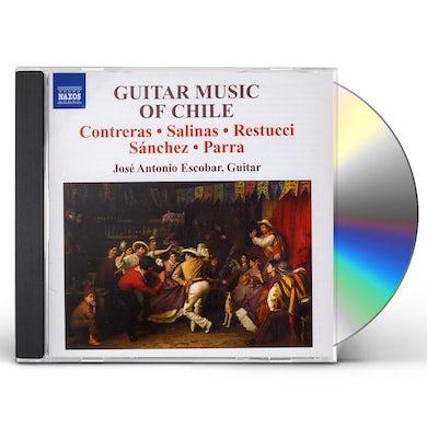 Jose Antonio Escobar GUITAR MUSIC OF CHILE CD