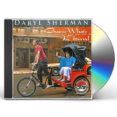 Daryl Sherman GUESS WHO'S IN TOWN CD