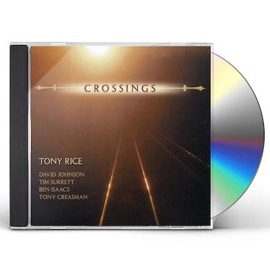 Tony Rice CROSSINGS CD