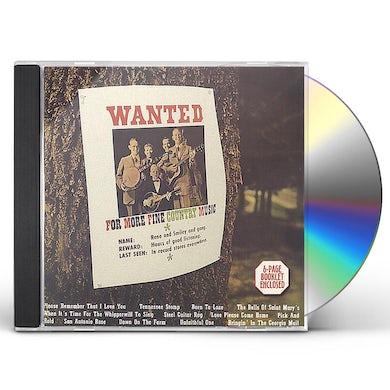 Reno & Smiley WANTED CD