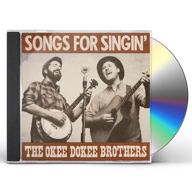 Okee Dokee Brothers Songs For Singin CD