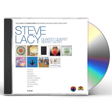 Steve Lacy COMPLETE REMASTERED RECORDINGS ON BLACK SAINT & SO CD
