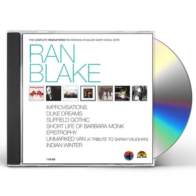 Ran Blake THE COMPLETE REMASTERED RECORDINGS CD