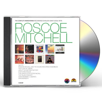 Roscoe Mitchell THE COMPLETE REMASTERED CD