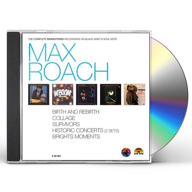 MAX ROACH - THE COMPLETE REMASTERED RECORDINGS CD