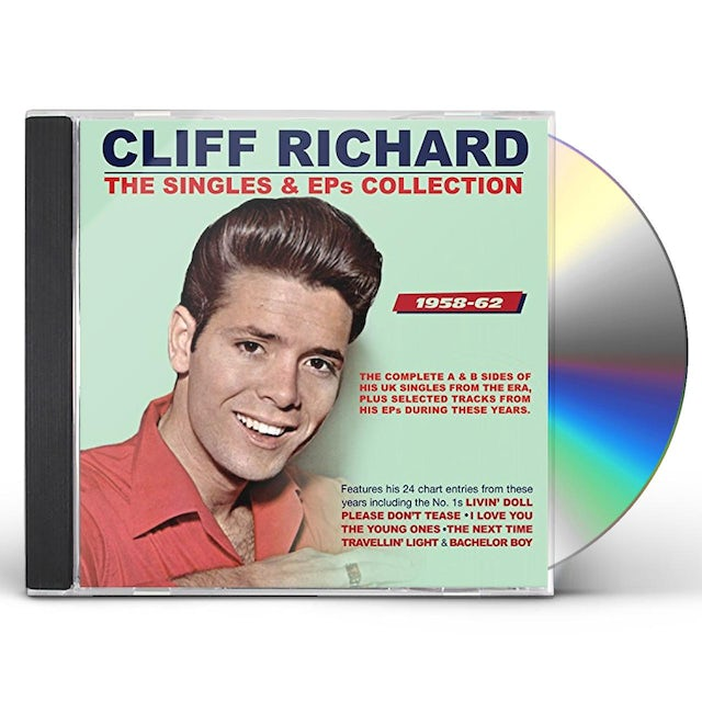 Cliff Richard SINGLES & EPS COLLECTION 1958-62 CD