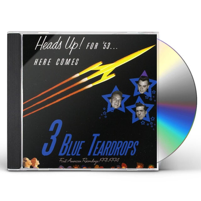 Three Blue Teardrops