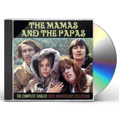 Mamas & Papas COMPLETE SINGLES: 50TH ANNIVERSARY COLLECTION CD