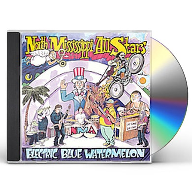North Mississippi Allstars ELECTRIC BLUE WATERMELON CD