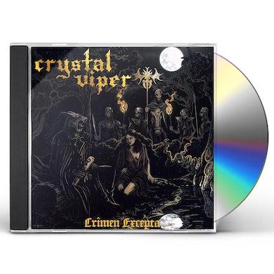 Crystal Viper CRIMEN EXCEPTA CD