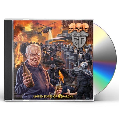 Evildead United States Of Anarchy CD