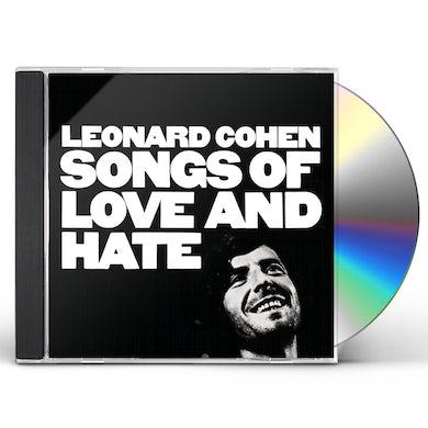 Leonard Cohen SONGS OF LOVE & HATE CD