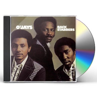 The O'Jays BACK STABBERS CD