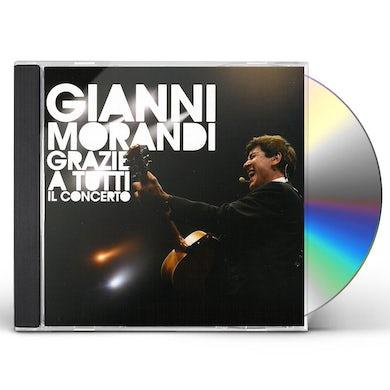 Gianni Morandi GRAZIE A TUTTI IL CONCERTO CD