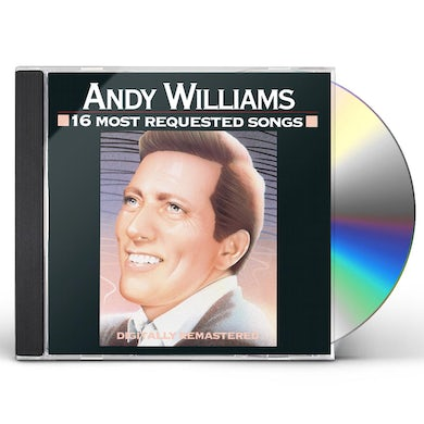 Andy Williams 16 MOST REQUESTED SONGS CD