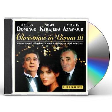 Placido Domingo CHRISTMAS IN VIENNA 3 CD